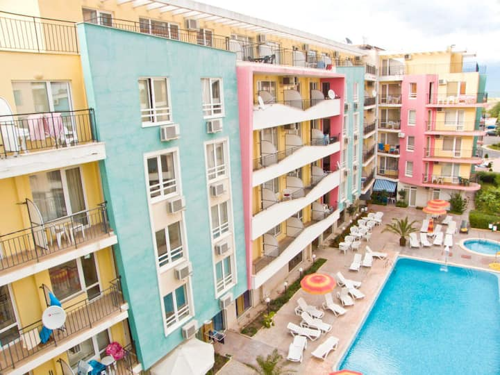 New one Bedroom apartment in Sunny Beach