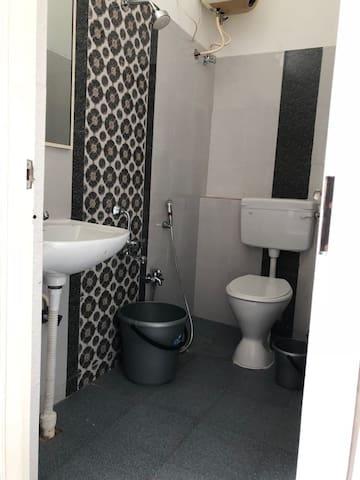 Western toilet!
