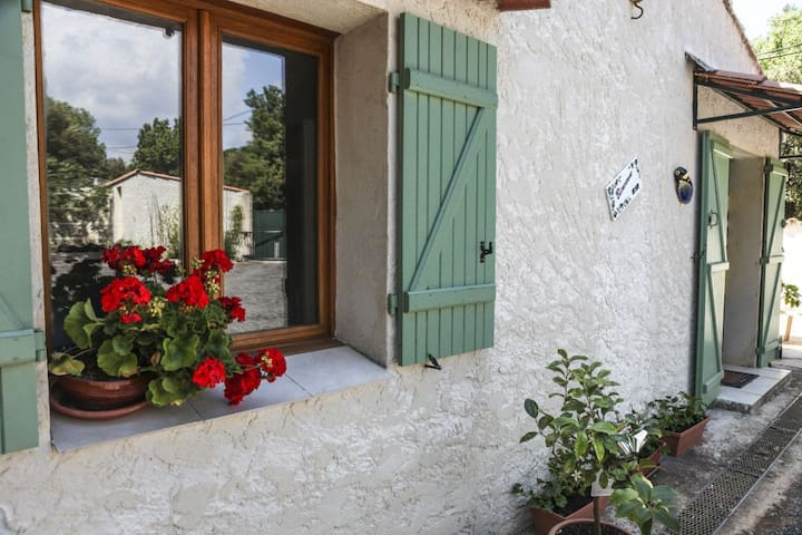 Superbe Gîte en Provence Verte : 50m2 avec piscine - Saint-Maximin-la-Sainte-Baume - Casa