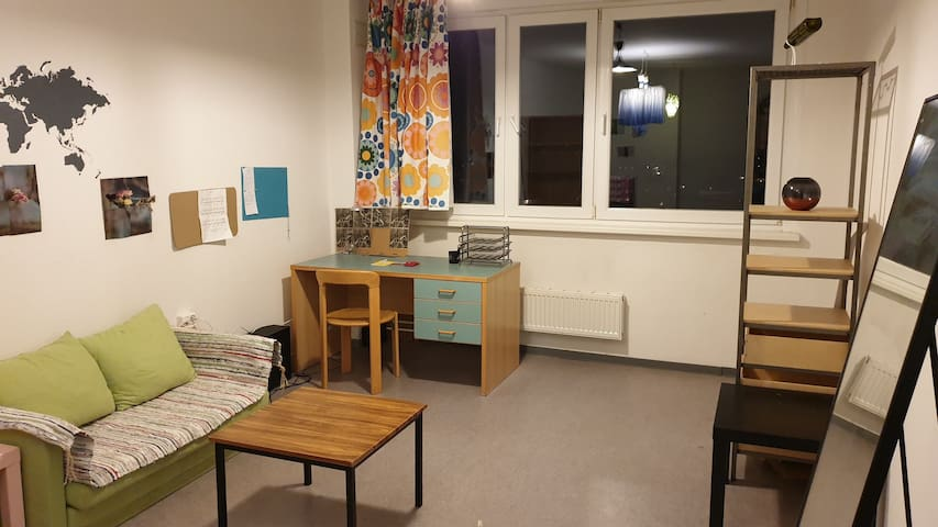 East Center single room with student vibe