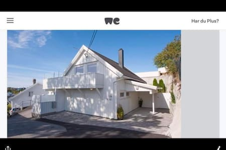 House with high standard and parking in Grimstad