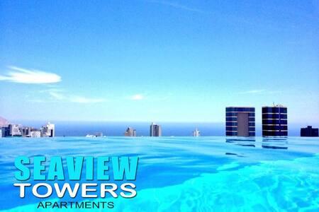 OceanView 1bd Modern Piscina Jacu - Lima - Apartment