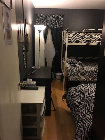 3 Cs: Classy, Comfy, & Convenient: Zebra Room