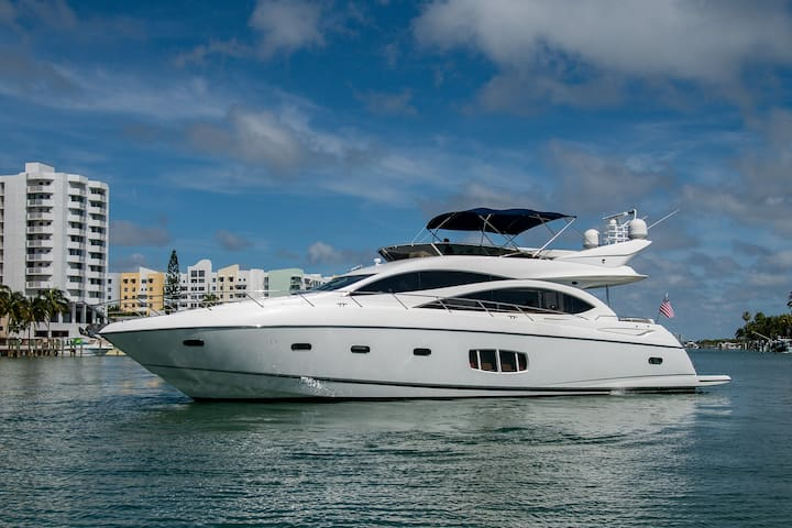 Private Yacht Daytrips- 75ft Sunseeker Sirena