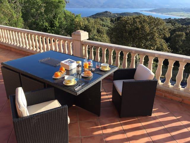 Chambre d'Hôte Corse du Sud splendide vue mer!!!