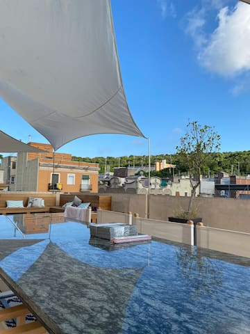 Private suite, Panoramic views, ♥ of Barcelona