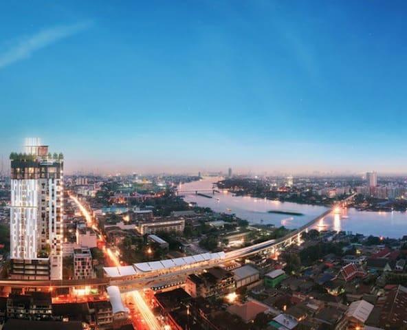 Modern Residence @MRT Interchange Station! - Bangkok - Apartment