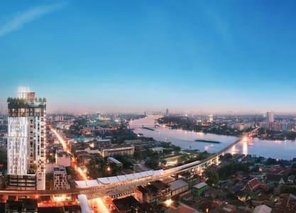 Modern Residence @MRT Interchange Station! - Бангкок - Квартира
