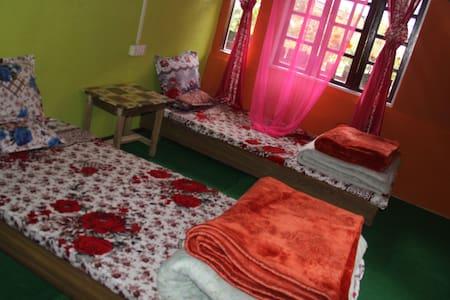 DOUBLE BEDDED ATTIC ROOM/HIMALAYAN - Darjeeling