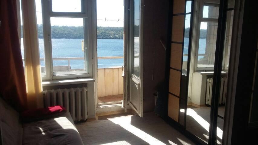 Уютная квартира с прекрасным видом в центре города