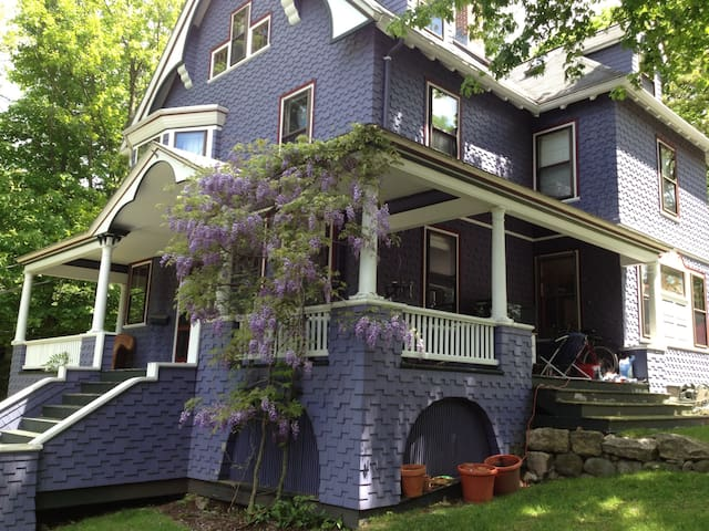 Purple Victorian House with third floor apartment!
