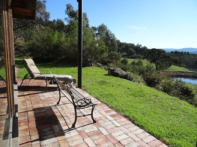 Relax and enjoy the view of Kinglake Ranges