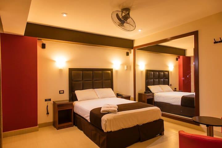 Hotel con habitaciones confortables - Los Olivos