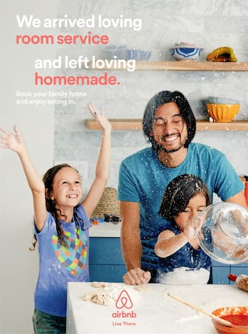 2017 featured home in Airbnb's print and digital campaign