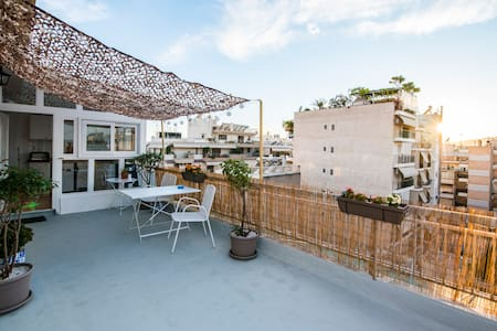 Rooftop studio -  heart of Athens - Atenas