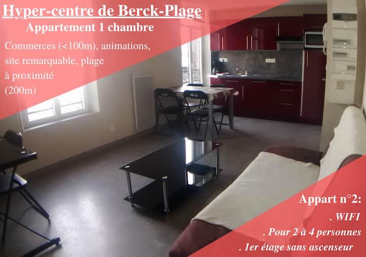 Appart 2 - Hyper-centre de Berck-Plage - WIFI