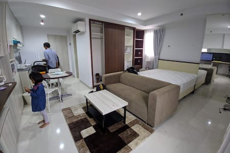 Quiet and Spacious 38m2 Corner Studio Apartment