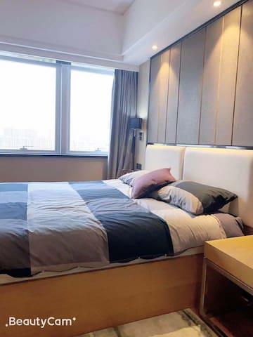 沃德新装酒店式公寓,干净卫生,长短租都可以