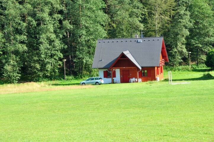 Holidayhome with Fireplace in Pecka