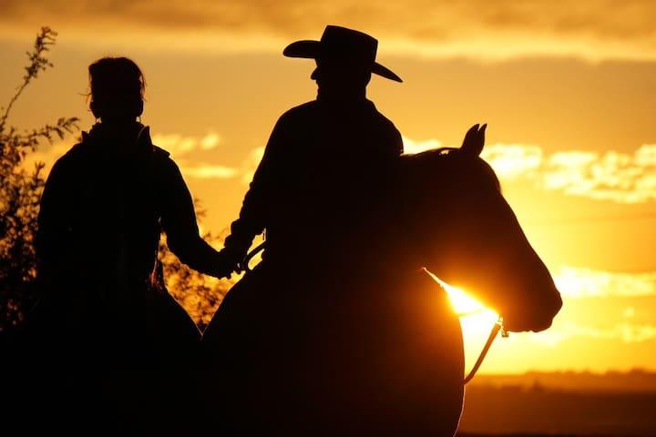 Romantic Sunset ride