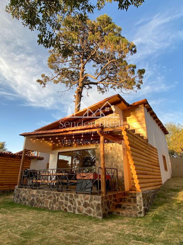 Sendero Real Mazamitla Cabaña #1