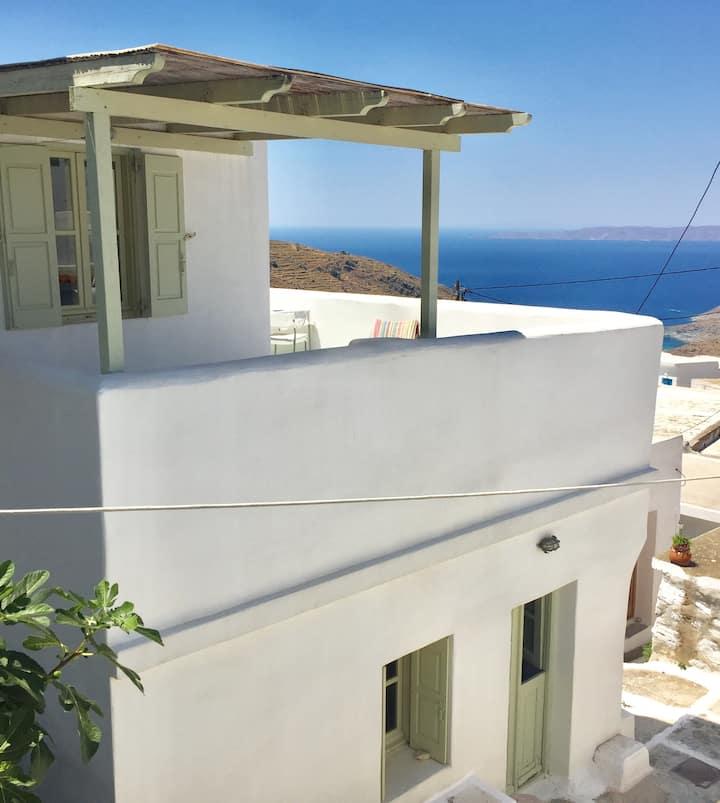 Sea view house Panagia