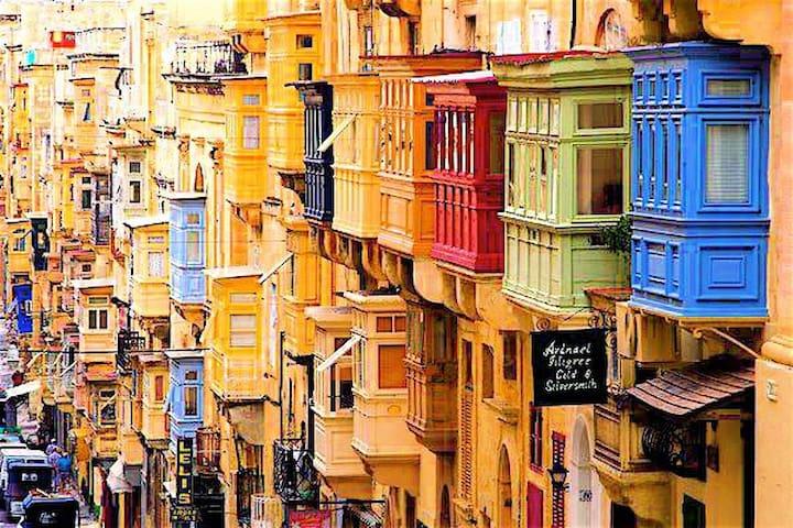 Right in the Heart of Valletta Studio 2A - Valletta - Daire