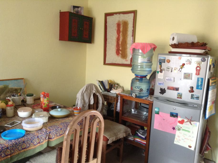 Sunny comfortable apartment flats for rent in kathmandu for Kitchen set in nepal