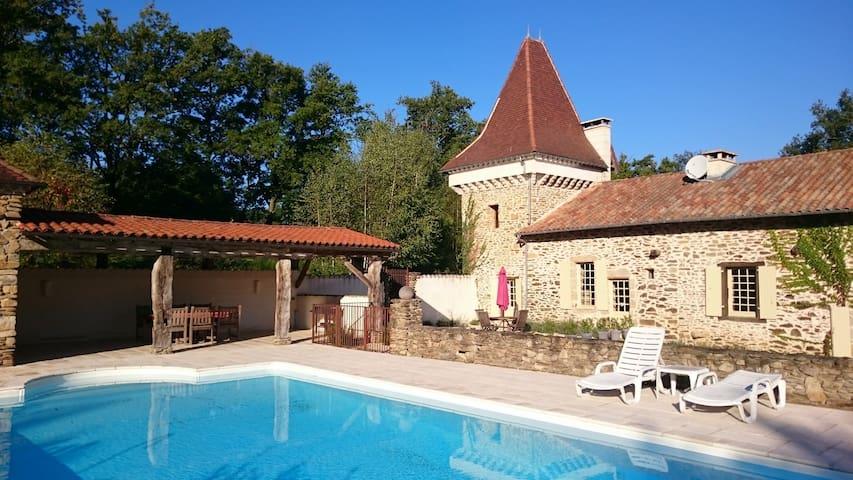 Maison de Charme in de natuur - Saint-Jory-de-Chalais - House