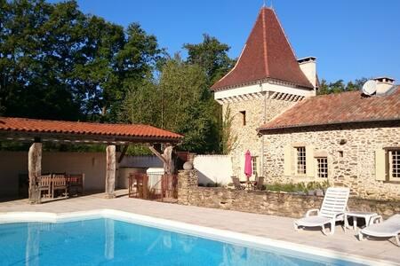 Maison de Charme in de natuur - Saint-Jory-de-Chalais - Talo