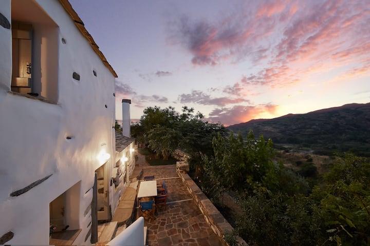 Villa Chrisafo, Ikaria -Kampos Traditional mansion