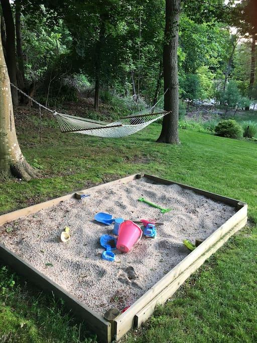 Sandbox for your kids