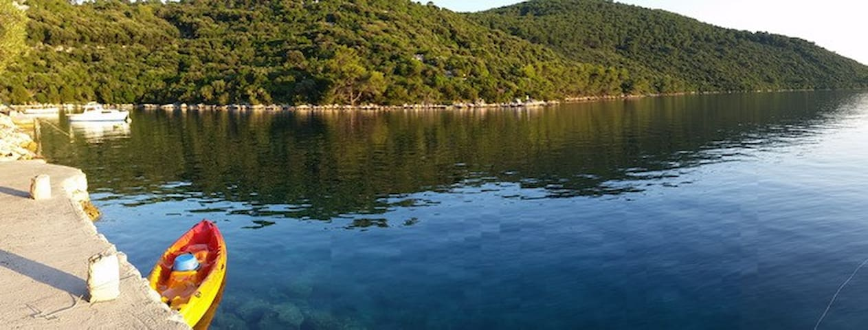 Island of Lastovo Robinson house 1.row to the sea. - Lastovo - Talo