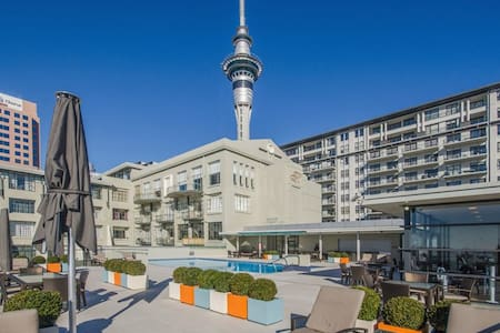 4* Central City Apartment With Hotel Amenities - Auckland - Apartment