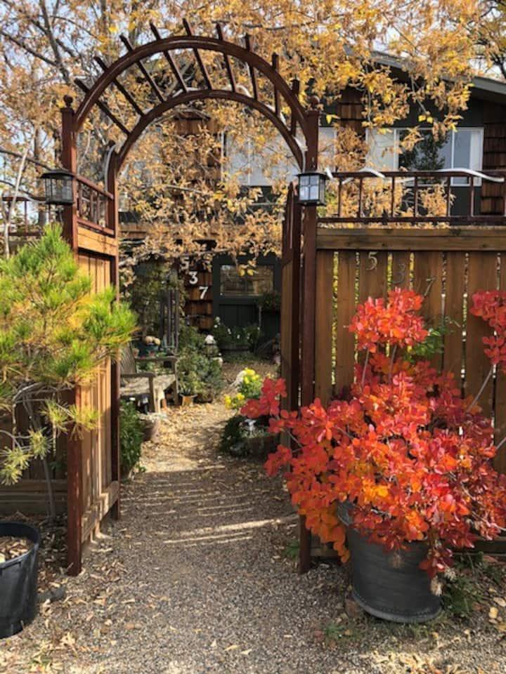 Zen Garden Sanctuary Studio Apartment