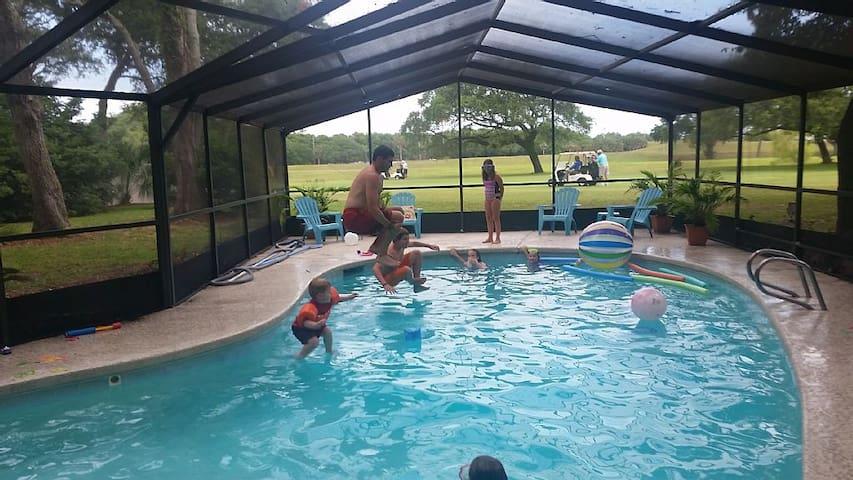 17th Hole Home w/Htd, Scrn. Pool - Jacksonville Beach - House