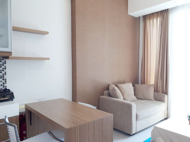 The first lifestyle apartemen TREEPARK  in serpong