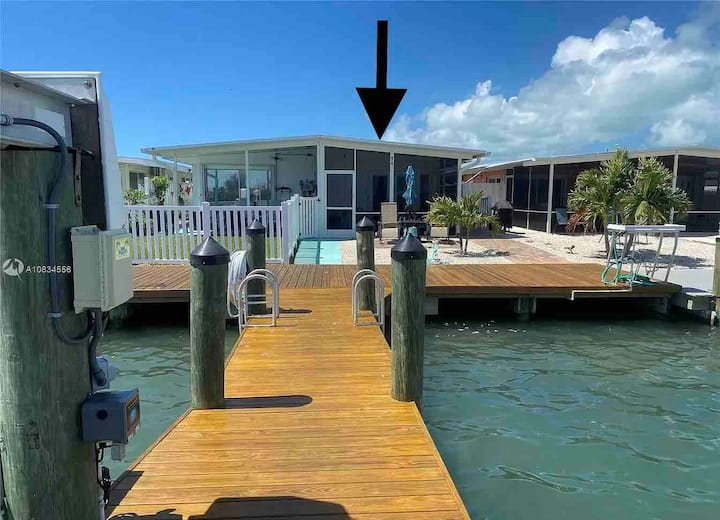 Keys Paradise! 2 bedroom / 2 bathroom / 30ft dock