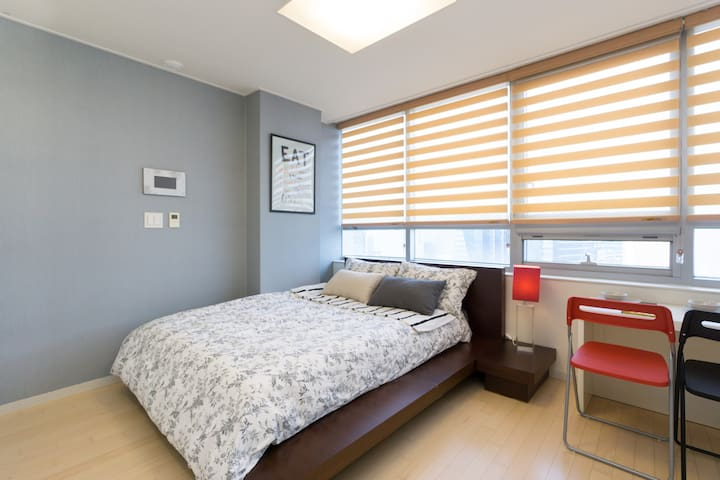 [New Open SALE]Pankyo Cozy House with City view - 성남시 - Apartamento