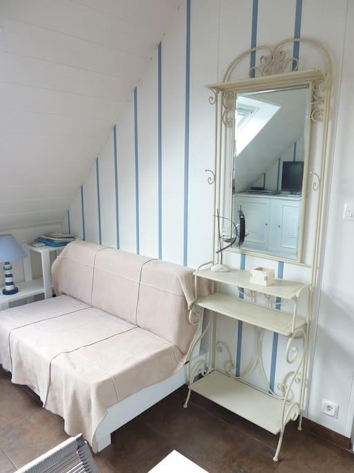 Salon , confort et détente .