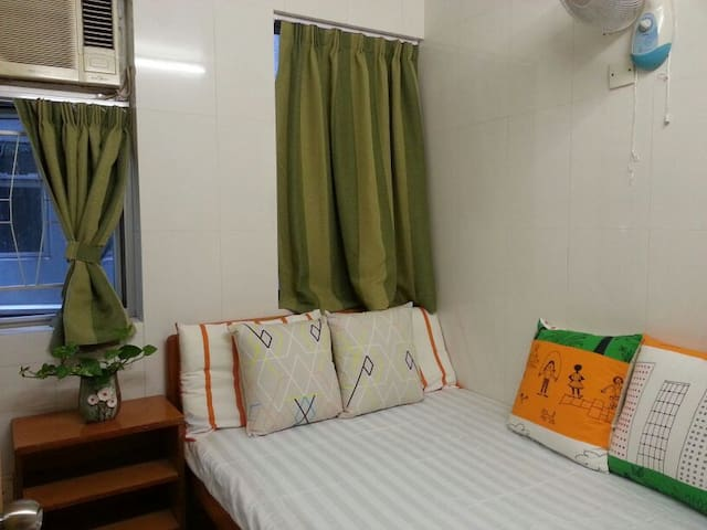 01 Double Room  (ensuite) - Hong Kong - Appartement