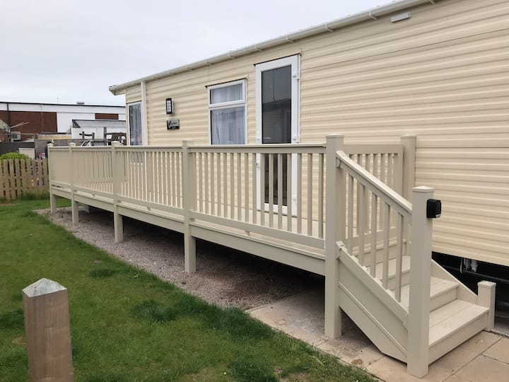 A  brand new lovely spacious aspen caravan  home