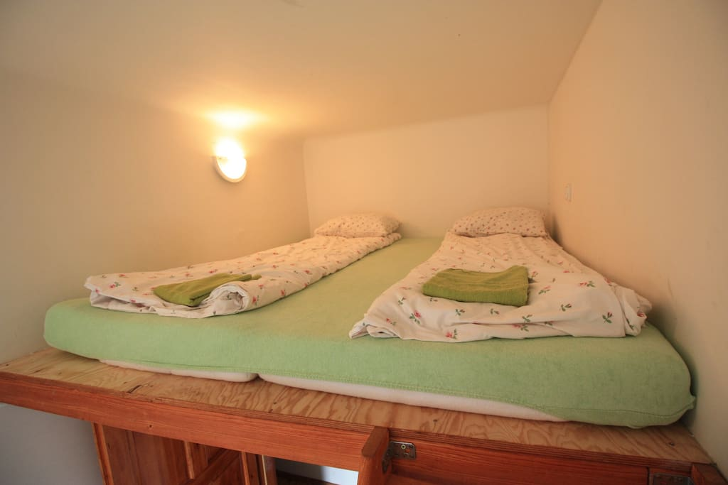 your own room with 3 beds ,wardrobe and writing table