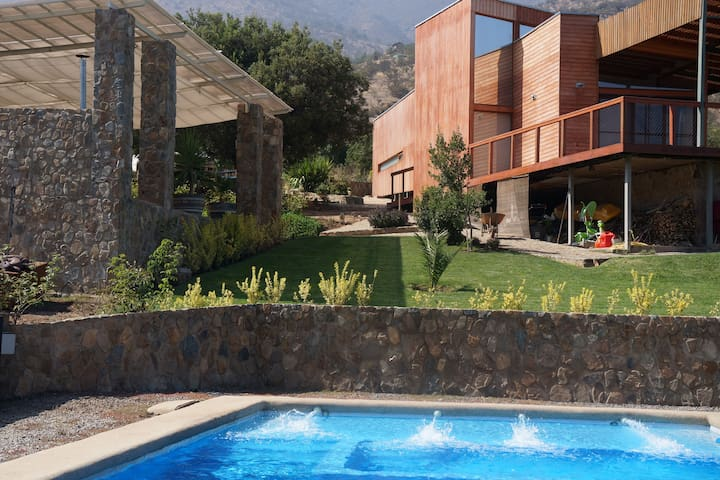 Beutiful stone house with views - Curacaví