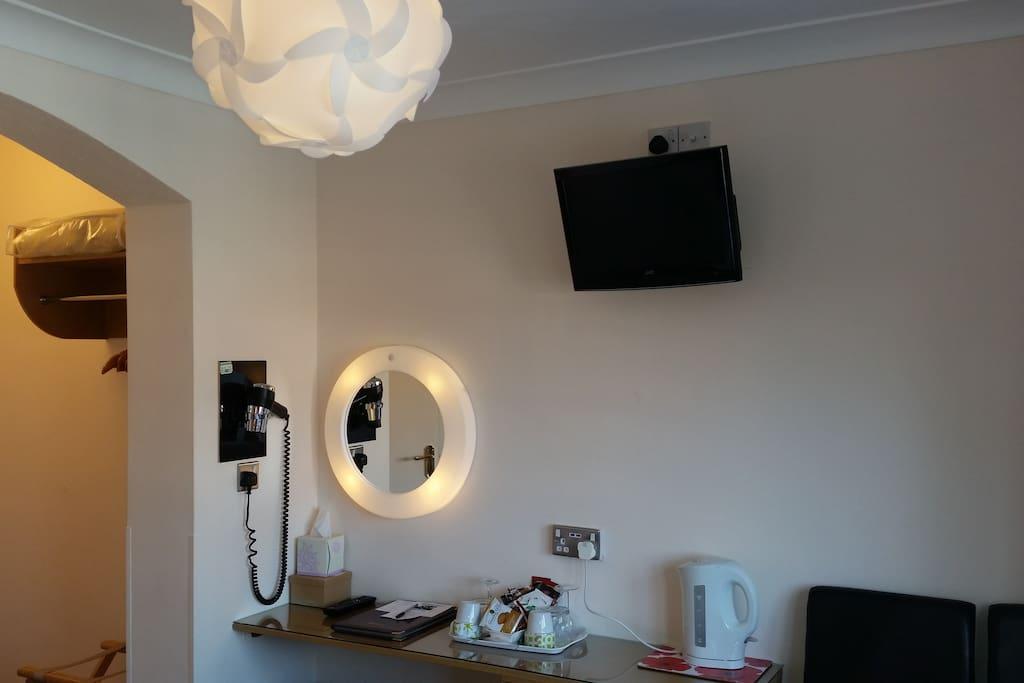 Private en suite double room
