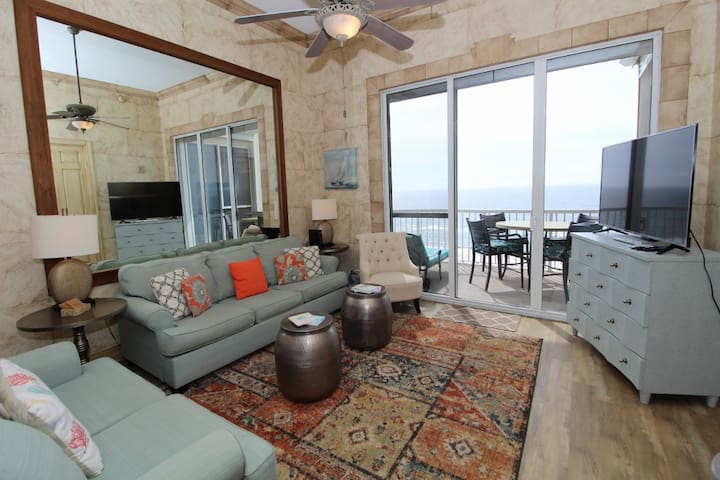 Spanish Key 705- Beach Front Views from Terrace with Custom Luxury Interior!