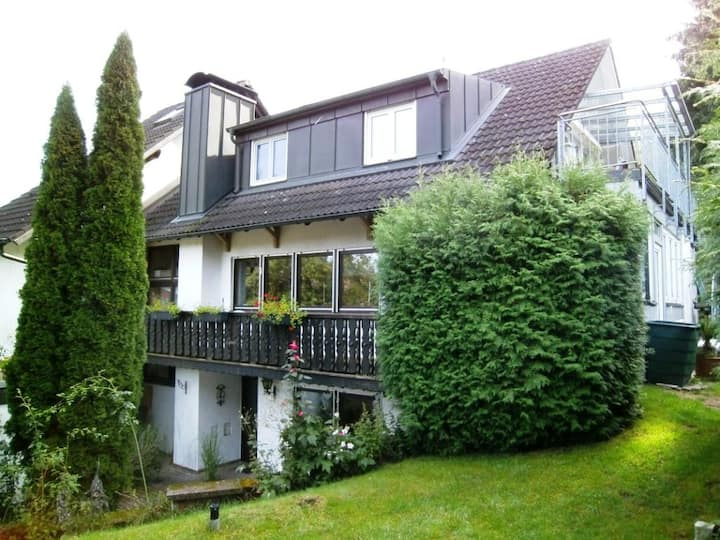 Wohnen auf 100 m² in ruhiger Waldrandlage