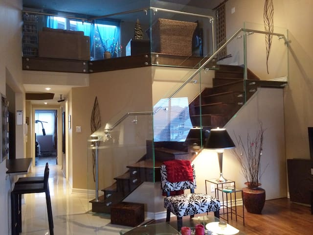 Penthouse condo - Montréal - Wohnung