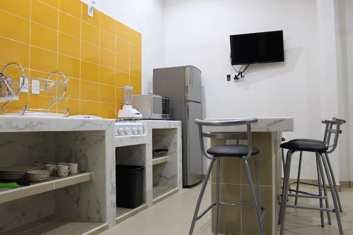 TERESITA'S GUESTS ROOMS departamento p/ 8 personas