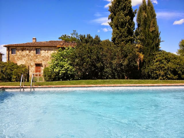 Apartment with pool in Chianti - Greve In Chianti - Appartement